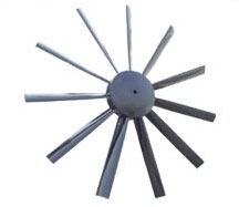 ABS / Aluminium /plastic FRP axial fan impellers / blades