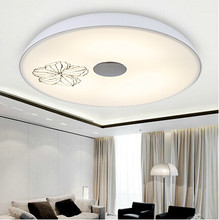 Dia 35cm /DIa 43cm acrylic bedroom light single color 18W/24W or dimmable 48W energy led light for house lamp
