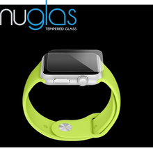 For apple watch 38mm Nippa adhesive silicone screen protector Manufacture ,Best quality glass screen protector