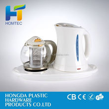 2012 special promotion stainless stell tea set,Electric Kettle with Tray Set