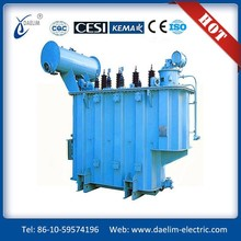 S10-M Series NLTC Three-phase Full-sealed 6.3kv 63kva Power Transformer
