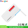 10400mAh 2 USB Interface High Capacity External Power Bank Mobile Power Station with lighting