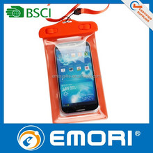 2015 hot selling good quality for iPad mobile phone waterproof bag with printing