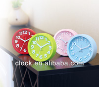 plastic Analog desk and table alarm clock