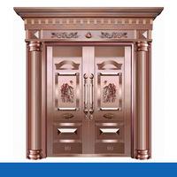 Luxury Stainless steel copper door used exterior doors for sale