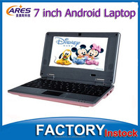 """Cheap Dual Core CPU Android 4.2 OS CE ROSH 7"""" Laptop Mini Notebook"""