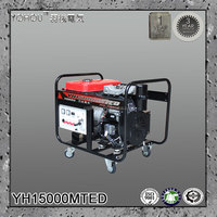 Highly reliable safe12kva three phase standby hotel used diesel generator set China manufacturer