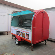 Multi-function Food Cart /China Food Trailers/multi-function mobile pizza van for sale