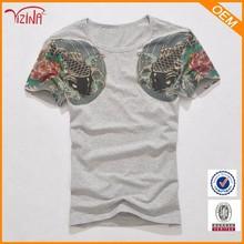 Online shopping tattoo t-shirt/ yakuza t-shirt/irezumi t-shirt for clothing