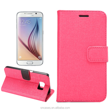 Mobile phone accessories Ocral Wallet leather case for samsung galaxy s6 cute cell phone cases