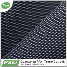 hot sale stock 900D 100% polyester PU coated dot jacquard oxford fabric for backpack