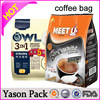 Yasonpack coffee valve resealable one way degassing valve for coffee packaging laminated bag for coffee