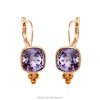 Fabulous gold plated jewelry, noblesse jewelry dangler earrings