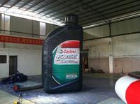 Oil Bottle Shape Inflatable Model , Interesting PVC Inflatable Bottle for Advertising