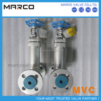 Hot sale carbon or stainless steel rising stem bolted bonnet/pressure sealed bonnet type flanged gate valve
