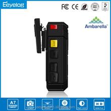 HDMI PTT USB 2.0 AV Out Police Body Camera
