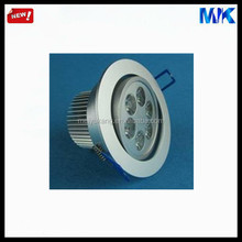 6*1w 92mm cut out led down light housing