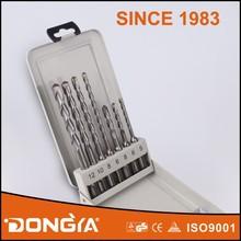 Iron Box 7PCS Carbide SDS-Plus Electric Hammer Drilling Bit Set