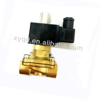Pilot Operated Normally Open Brass Material Solenoid Valve 24V