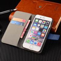 Smart phone Leather Flip Case Leather PU Phone Case, Case For iphone 6 Wallet Case ,For iphone Smart phone Wallet Case