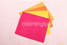 Various logo design printed mouse pad, Firm direct sales mous pad with cheap price