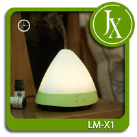 4 Timer Set Essential Oil Diffuser 12V Portable Air Confitioner With Warm LED Light Easy to Clean