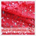 conception de la dentelle avec des paillettes pour vêtement dame de la mode en tissu africain