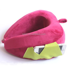 Newly patent memory foam factory price travel u shape pillow