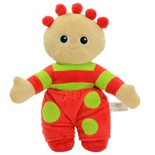 In the night garden Tombliboo plush toy 12 Inch(red)