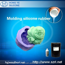 Moulding silicone rubber for urethane resin casts