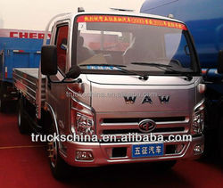 LOW PRICE and Strong WAW BRAND Light 3T 4X2 MINI CARGO TRUCK Sale