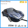 Black car shape gift 3D wired usb computer car mouse with usb 2.0
