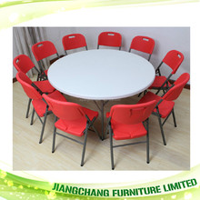 Factory direct high quality folding party round tables