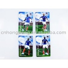 football players pvc Magnetic Sticker
