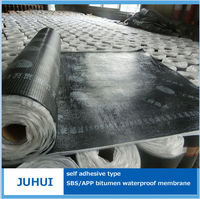 self-adhesive roofing felt waterproofing bitumen membrane Not be effected by weather