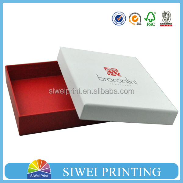 custom printed paper packaging box for packing