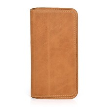 Custom Logo High Quality Genuine leather Phone Cases for iPhone 6