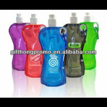 Hot promotion gift foldable water bottle