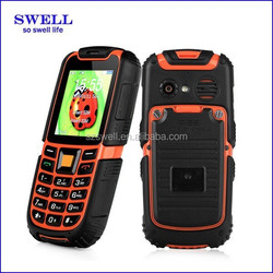 Newest Rugged phone Mobile S6 wholesale SC6260A Waterproof ip67