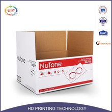 High Quality Pantone Color Heavy Duty Waterproof Recyclable Paper Custom 3 Layers Corrugated Carton Hard Cardboard Boxes