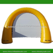 2015 new design inflatable movie screen arch, inflatable yellow arch gate, outdoor inflatable archway