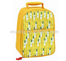 Pencil Canvas Thermal Lunch Bag for Hungry Little Kids