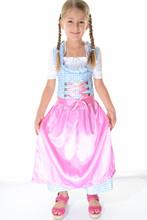 Kids dirndl dress/Oktoberfest girls dirndl dress/little girls dirndl dresses
