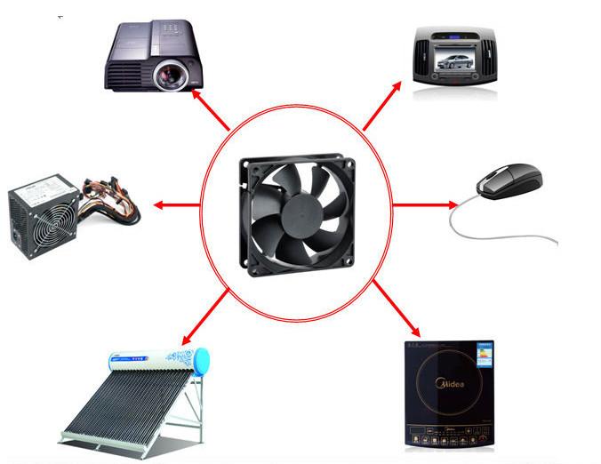 8038 AC Fan 220v 50Hz Mini 120v 220v Fan 8cm 80*80*30mm AC Fan Motor 120V Cooling