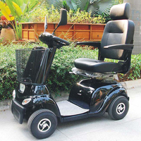 500w mobility scooter electric scooter 4 wheel for elderly DL24500-2 with CE certificate (China)