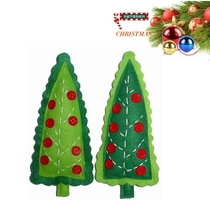 China manufacturer party trees colourful handmade christmas tree