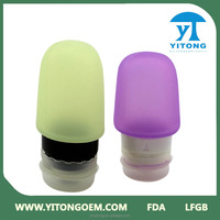 Silicone Travel Tube for Camping Silicone Shampoo Bottle/Silicone Tube Packaging