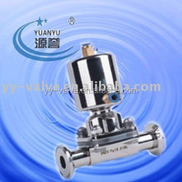 low price sanitary stainless steel pneumatic diaphragm Valve(CE,ISO9001:2000 certificate)