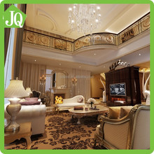 Luxury 3D House Plan Living Room Design with Furniture