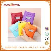 top quality flower reusable shopping bag folding nylon bag